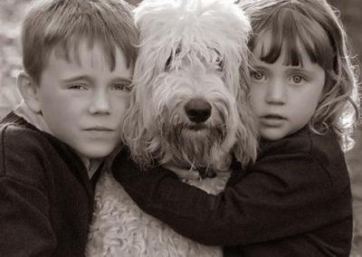 children family anniversary pets 175