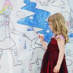 CUP 2016 coloring wall - Dan Kells