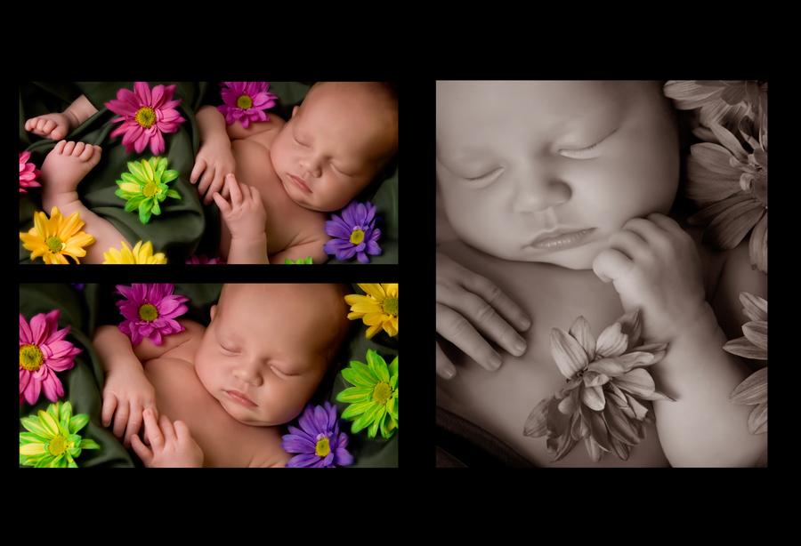 Custom Created Family Baby Photo Book