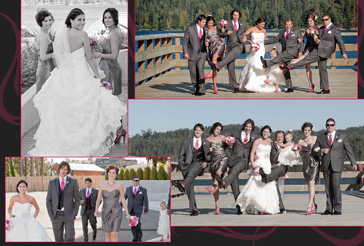 West Coast Wedding Custom Photo Book