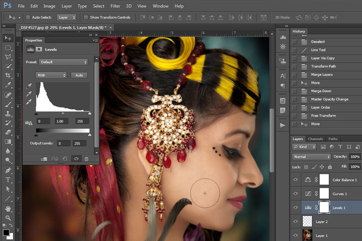 Learn more advanced techniques in Adobe Photoshop and Lightroom in Victoria BC