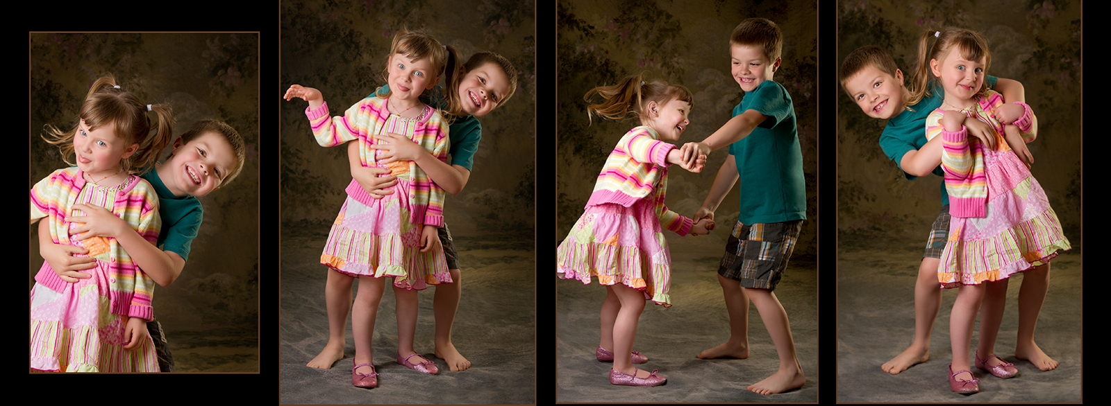 Brother & Sister Photo Book