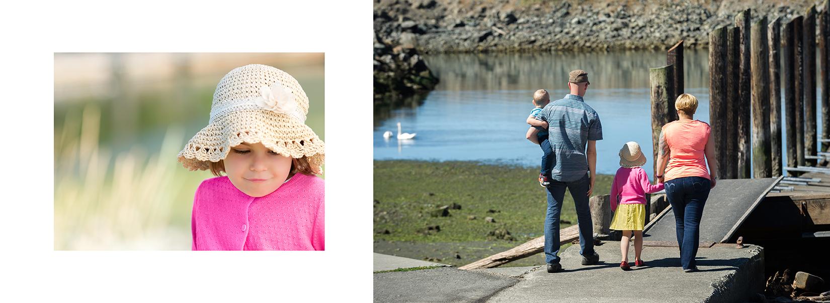 Family Beach Day Custom Photo Album
