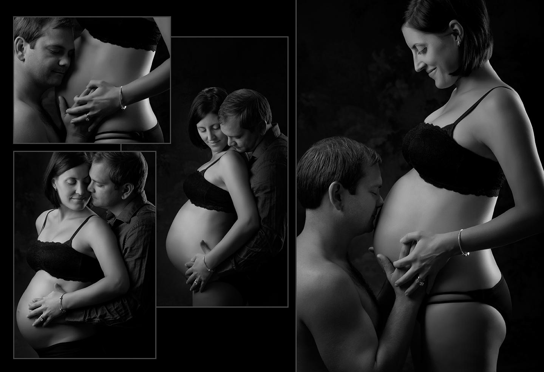 Custom Created Maternity and Baby Photo Book