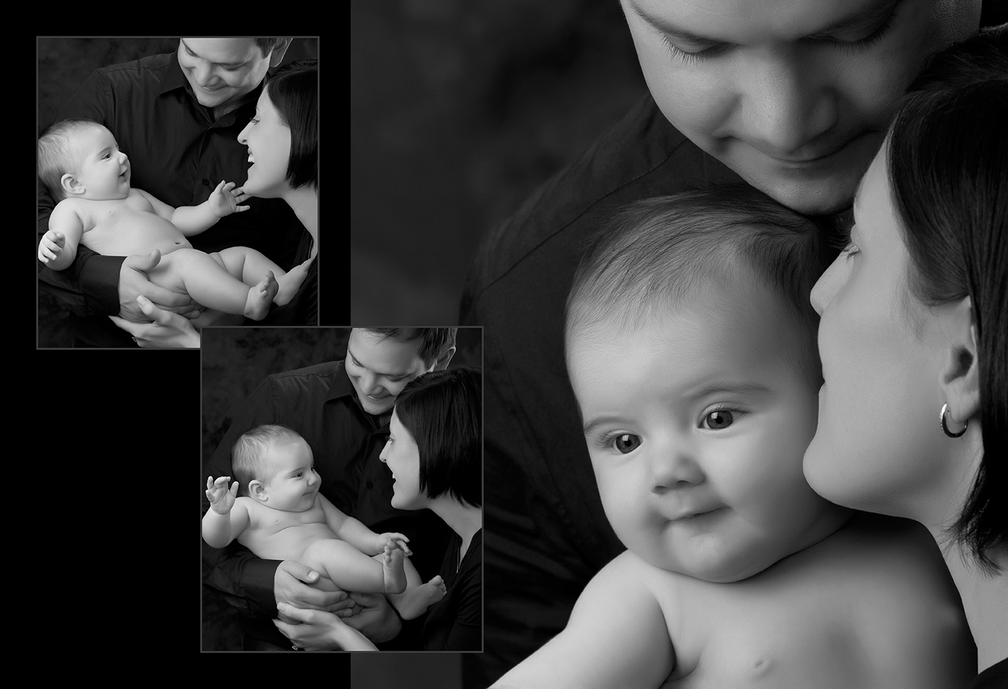 Custom Created Maternity and Baby Photo Book