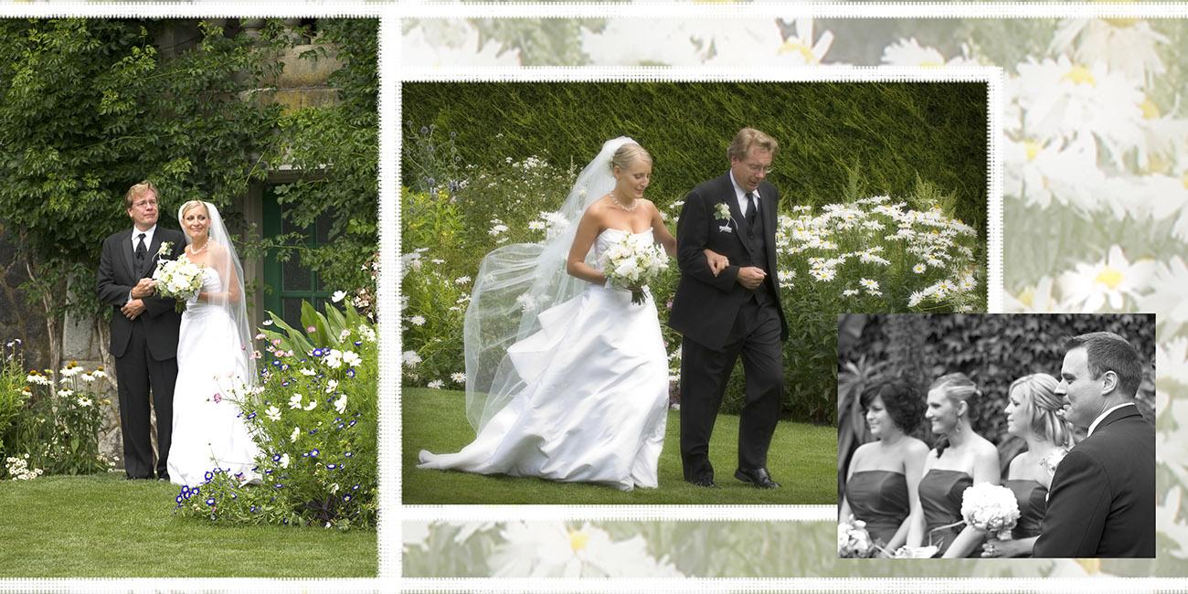 Royal Roads Romance Custom Wedding Photo Book