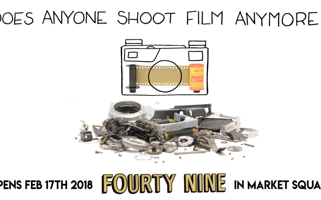 "Upcoming Gallery Event: ""Does Anyone Shoot Film Anymore?"""