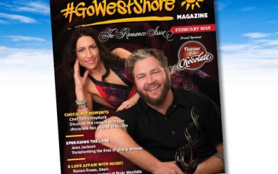 February Cover of GoWestshore Magazine
