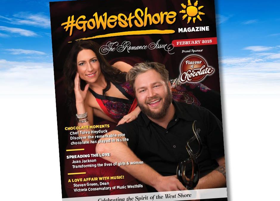 February Cover of GoWestshore Magazine